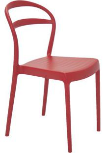 Cadeira Sissi- Vermelha- 80X44X53Cm- Tramontinatramontina