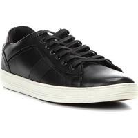 2e6e925ea7 Tênis Couro Shoestock Recorte Masculino - Masculino-Preto