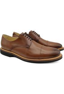 Sapato Social Adolfo Turrion Em Couro Confortável Liso - Masculino-Cinza