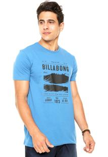 Camiseta Billabong Lines Azul