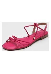 Sandália Feminino Beira Rio 8328.450 Pink Multicolorido