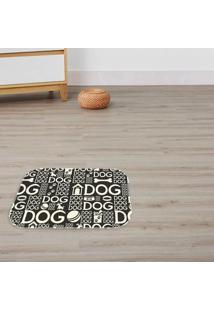 Tapete Decorativo Dogs Preto ÚNico - Multicolorido - Dafiti