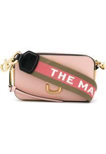 Marc Jacobs Snapshot Small Camera Bag - Rosa