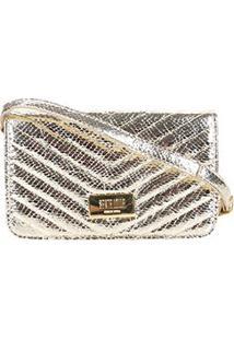 Bolsas Santa Lolla Feminino Pequena Textil0470.2C29.02Db - Feminino-Dourado