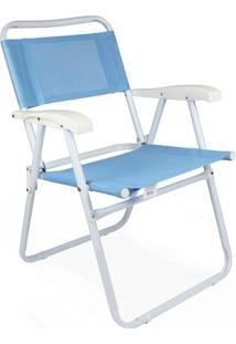 Cadeira Master Aço Fashion - Unissex-Azul