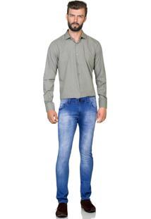 Camisa Hugo Rossi Xadrez Bege - Xadrez