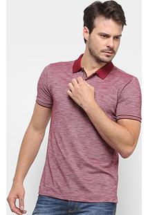 Camisa Polo Forum Masculina - Masculino-Bordô