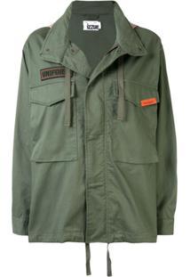 Izzue Reserved Hooded Jacket - Verde