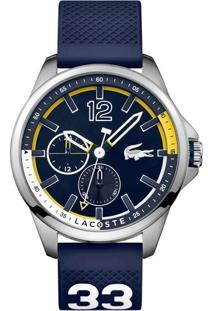 Relógio Lacoste Masculino Borracha Azul - 2010897