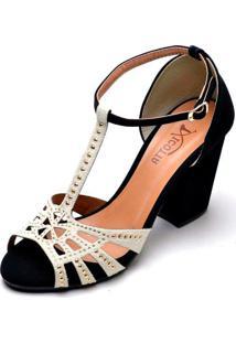 Sapato Social Xicotta Preta