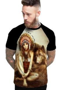 Camiseta Stompy Raglan Modelo 138 Masculina - Masculino-Preto