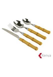 Faqueiro Com 24 Pecas Em Aco Inox - Kenya