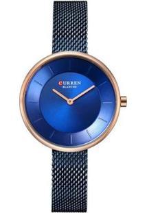 Relógio Curren Analógico C9030L - Feminino-Azul
