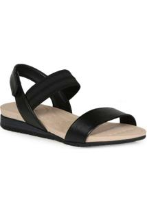 Sandália Rasteira Feminina Conforto Modare Velcro
