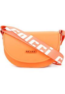 Bolsa Colcci Mini Bag Dubai Feminina - Feminino-Laranja