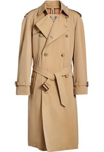 Burberry Trench Coat The Long Chelsea Heritage - Neutro