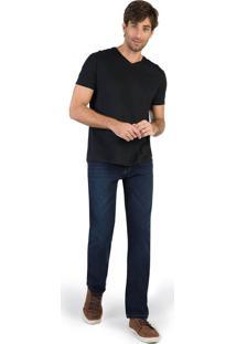 Calça Jeans Reta Vintage Stone