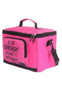 Cooler Sport Bolsa Termica Gabriela Pugliesi Pink Dmw