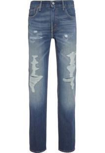 Calca Masculina 511 Slim Fit - Azul