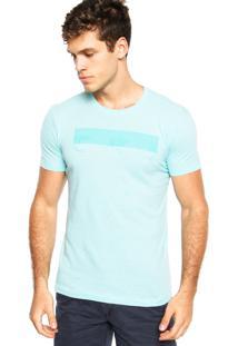 Camiseta Calvin Klein Jeans Logo Verde