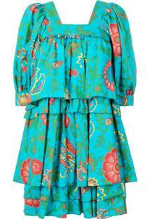 La Doublej Vestido 'Big Mama' - Azul