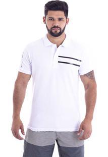 b203e30e74 ... Camisa Polo Live Team Branca 395-01 - Gg