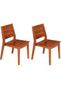 Conjunto Com 2 Cadeiras Para Área Externa I Toscana Marrom