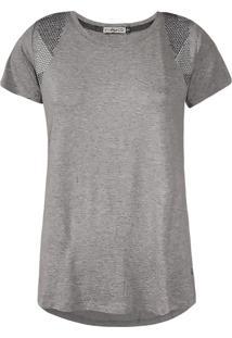 Camiseta Khelf Com Termocolantes Mescla