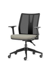 Cadeira Addit Assento Crepe Fendi Com Base Piramidal Em Nylon - 54115 Fendi