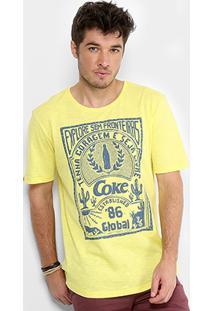 Camiseta Coca-Cola Explore Sem Fronteiras Masculina - Masculino