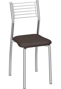 Cadeira De Aço Berlim C140 Compoarte Preto