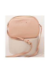 Bolsa Feminina Transversal Pequena Rosê