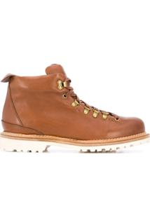 Buttero Alpine Hiking Ankle Boots - Marrom