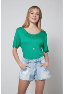 Short Jeans Clarice Paetê Jeans - Oh, Boy! Feminino - Feminino