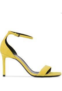 Saint Laurent Sandália De Salto Alto 'Amber' - Amarelo