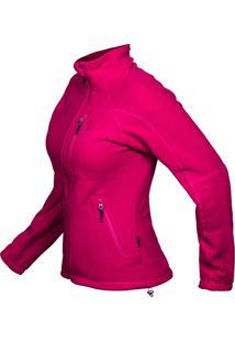 Casaco Thermo Fleece Cereja Fem Vtb150-17 - Curtlo