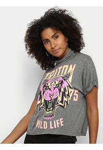 Camiseta Triton Wild Life Feminina - Feminino-Estampado