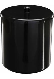 Kit Acessórios Para Banheiro Astra 4 Peças Preto