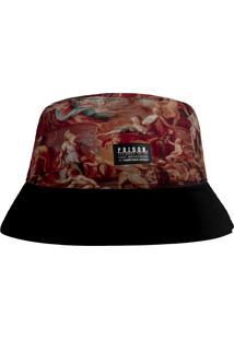 Chapéu Prison Bucket Hat Romano Bege