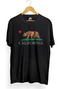 Camiseta Bsc California - Masculino-Preto