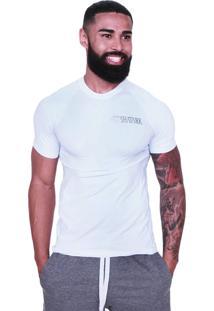 Camiseta Compressão Shatark New Branco