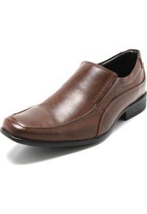 Sapato Social Mariner Elástico Caramelo