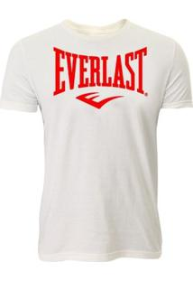 Camiseta Life Style Everlast - Masculino-Branco