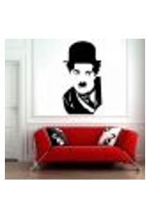 Adesivo De Parede Charlie Chaplin 2 - Es 112X60Cm