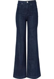 Calca Bobô Paolla Feminina (Jeans Escuro, 50)