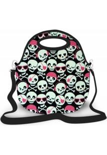Bolsa Térmica Shop House Monster Skull Luxo Multicolorida