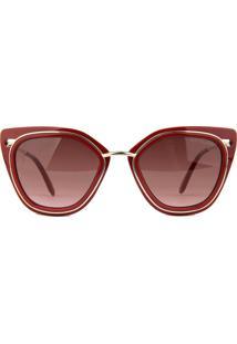 Óculos De Sol Atitude At5351 D01/51 Bordô - Kanui