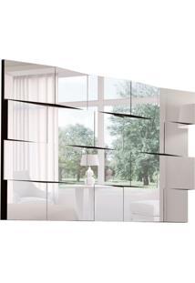 Espelho Decorativo Jade 150 X 80 Preto