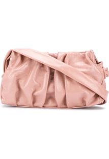 Elleme Vague Draped Shoulder Bag - Rosa