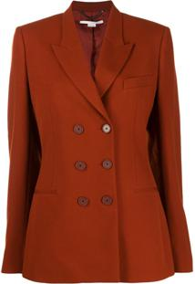Stella Mccartney Double-Breasted Blazer - Marrom